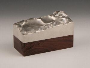 Silber Design sterling silber Deckeldose modern Silberwaren 1