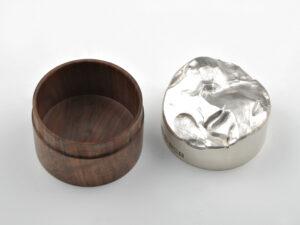 现代设计 纯银 现代带盖罐 银器 2
