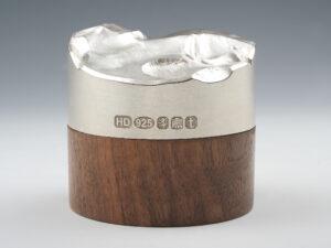 Moderne Sterling-Silber Deckeldose Silberwaren 4