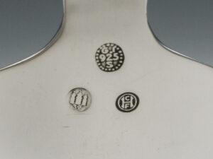 Georg-Jensen sugar spoon Parallel sterling silver silverware silver services