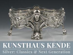 jugendstil silber schale obstschale wien hermann suedfeld art nouveau silver