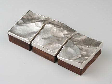 "A set of three ""Landscape Boxes"""