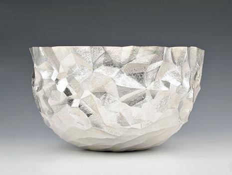 """A Britannia silver """"Craggy Mountain Bowl"""""""