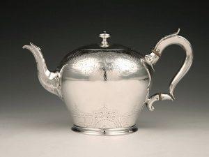 William_IV_Teekanne_Sterling_Silber_Teapot_sterling_silver_ezüst_argent_plata_sølv_1