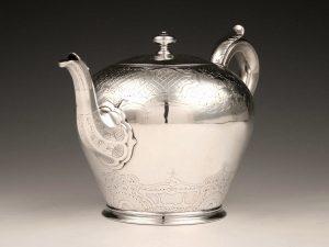William_IV_Teekanne_Sterling_Silber_Teapot_sterling_silver_ezüst_argent_plata_sølv_2