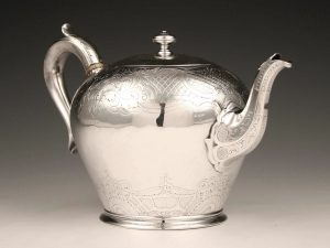 William_IV_Teekanne_Sterling_Silber_Teapot_sterling_silver_ezüst_argent_plata_sølv_3
