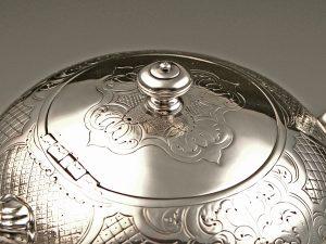 William_IV_Teekanne_Sterling_Silber_Teapot_sterling_silver_ezüst_argent_plata_sølv_5