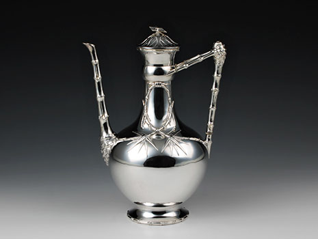 A 950 silver Aesthetic Movement coffeepot