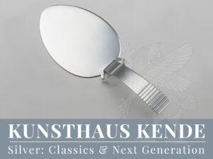 Georg Jensen Parallel Pastetenheber Silber Besteck Silberbesteck Silberwaren