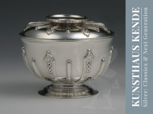 Georgian sterling silver lidded sugar bowl creamer 18th century tea solid silver