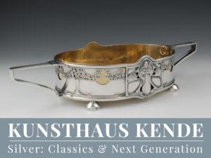 Jugendstil Sterling Silber Jardiniere Art Nouveau Kate Harris William Hutton