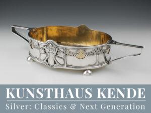 Jugendstil Sterling Silber Jardiniere Löffel Besteck Orivit Arts & Crafts