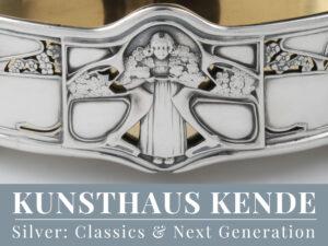 Jugendstil Sterling Silber Jardiniere sterling silver Harris Art Nouveau antique