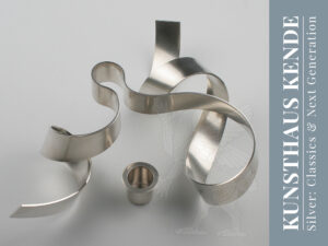 modern sterling silver candlesticks london table silver