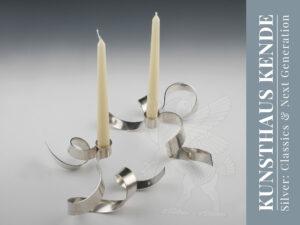moderne sterling silber kerzenständer london design