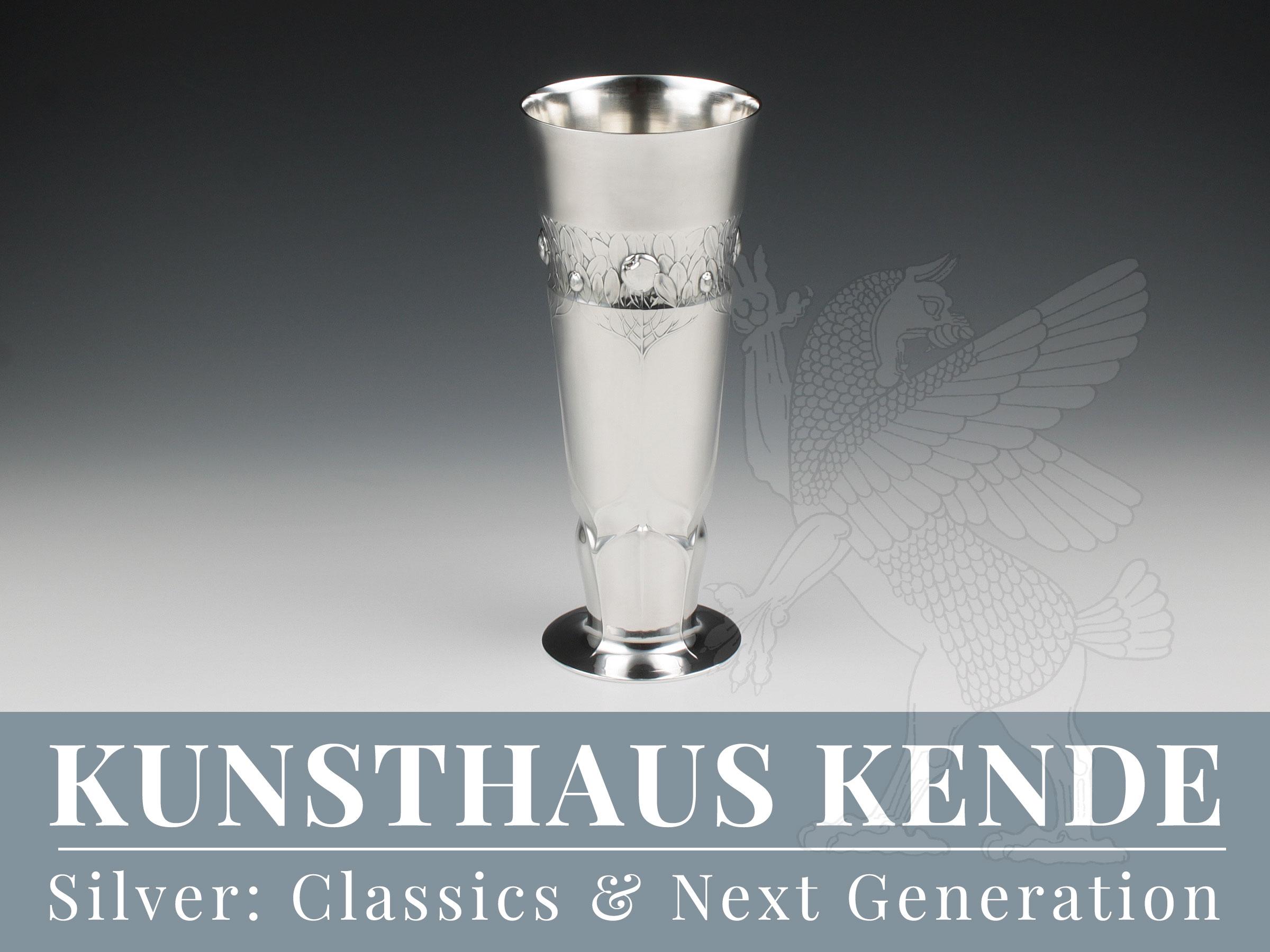 Orivit Jugendstil Silber Vase Hubert Schmitz WMF Jugendstil Vase Teekanne oag