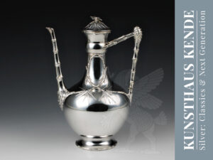 Orivit Jugendstil Sterling Silber Teekanne Tafelsilber Silberbesteck Art Nouveau