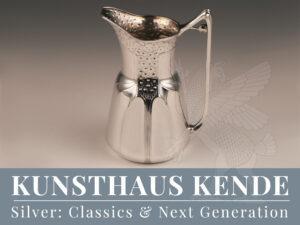 Orivit Jugendstil Vase Silber Nouveau Terrine sterling silver Teekanne oag Kelch