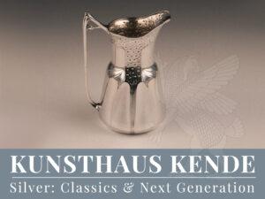 Orivit Kaffeeservice Sterling Silber Tablett Teekanne Hubert Schmitz Weinkühler
