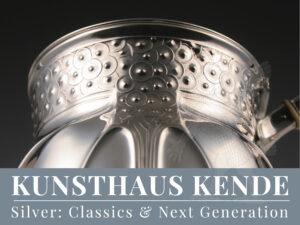 Orivit Silber Jugendstil Silberschale Art Nouveau Orivit Kelch Art Nouveau Orivit