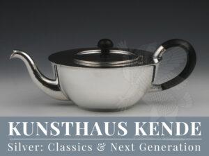 Paula Straus Silber Bruckmann Vase Silber Teekanne Christa Ehrlich Teeservice