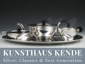 Paula Straus Silber Christa Ehrlich Tablett Teeservice Emmy Roth Vase Teekanne