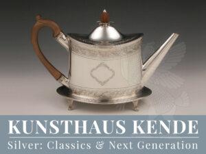 Silber 925 englische Teekanne Sterling Silber Bateman Teeservice Kaffeekanne