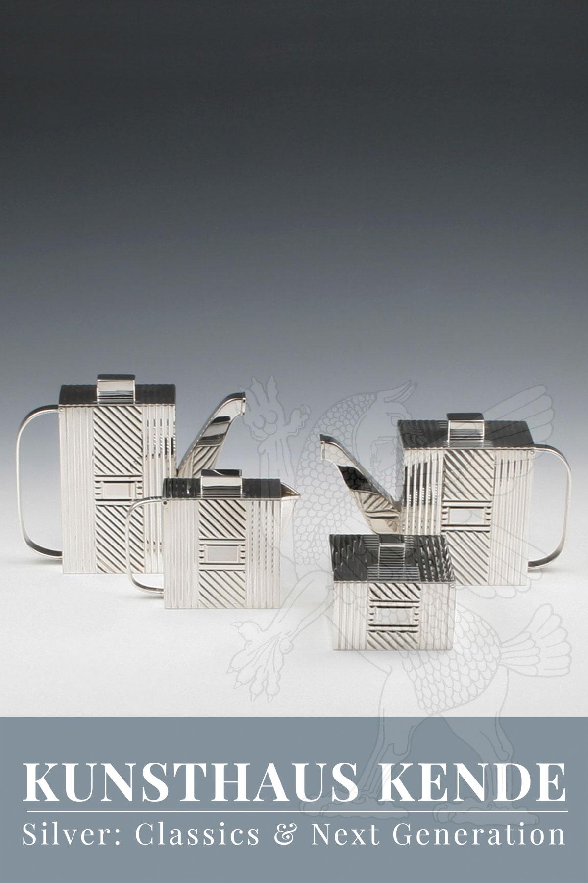 silver tea service tea caddy solid silver tiffany sterling silver vintage tea