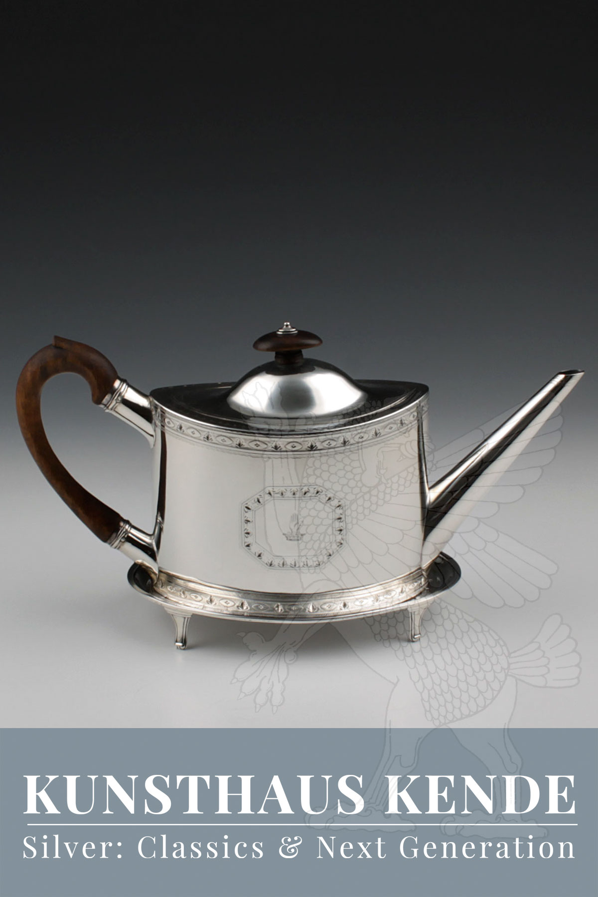 sterling silver teapot regency silver thomas daniell silverware antique silver