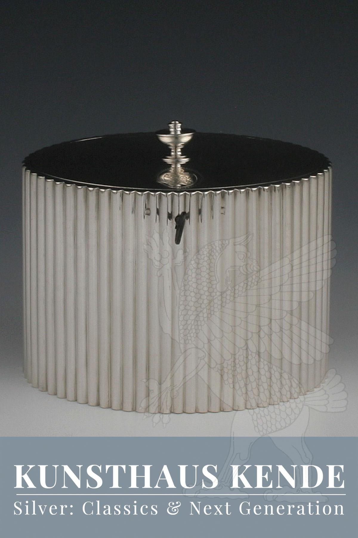 teedose sterling silber London 1786 englische dose caddy antik joseph angell