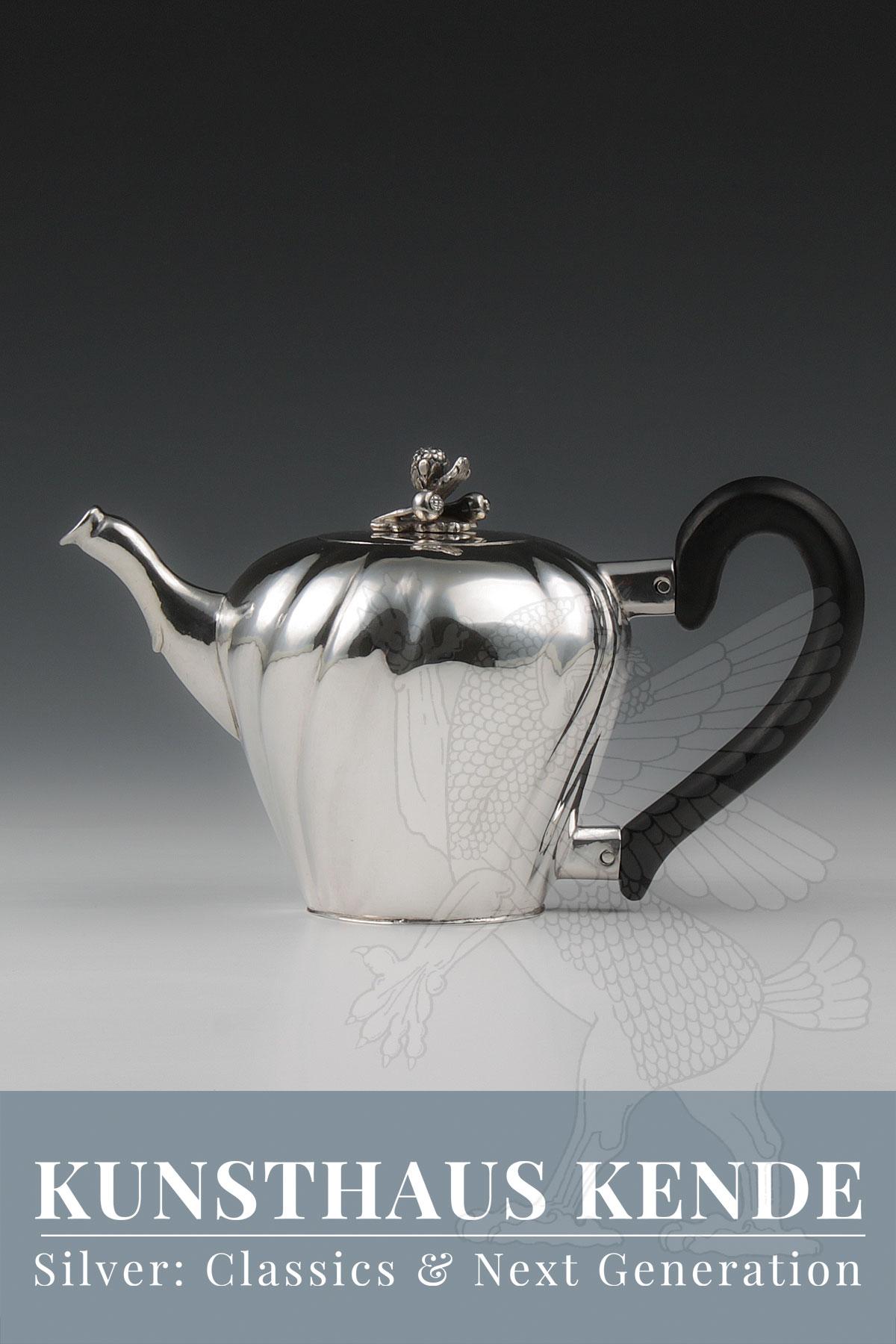 Teekanne Silber Augsburg London Silber 925 Kaffeekanne Teeservice Tee Silberwaren
