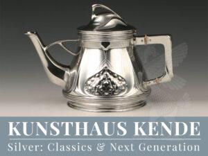 Teekanne Silber Orivit Hubert Schmitz WMF Jugendstil Vase Oag Ferdinand Hubert