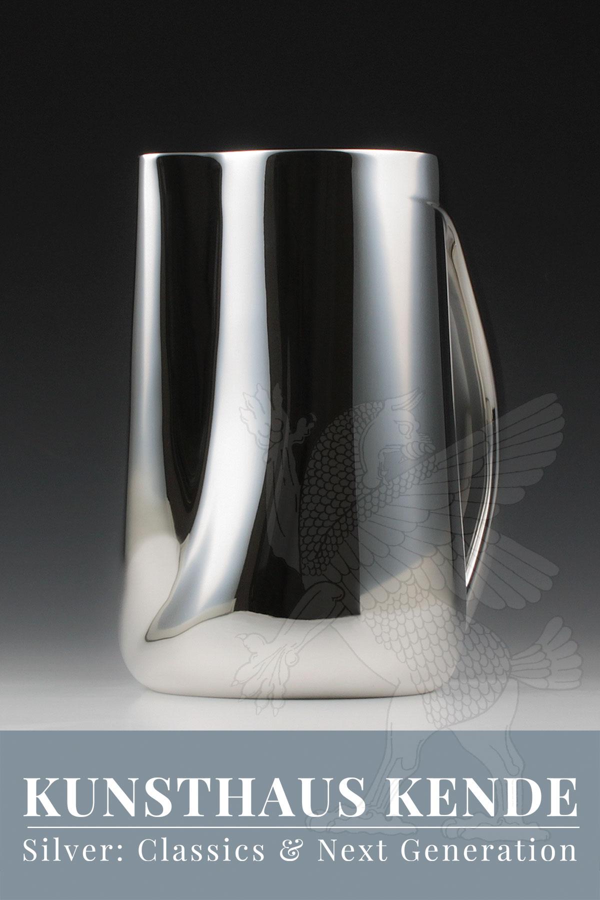 Tiffany sterling silver Elsa Peretti jug decanter pitcher modern silver design